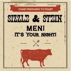 Men's Event – Sizzling Steak & Stein!