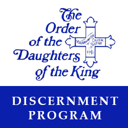 Daughters Of The King Discernment Program St Michaels By The