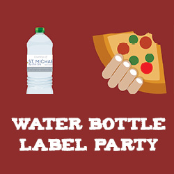 Water Bottle Labeling Party