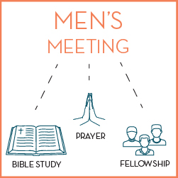 Men's Bible Study & Fellowship Meeting (Virtual)