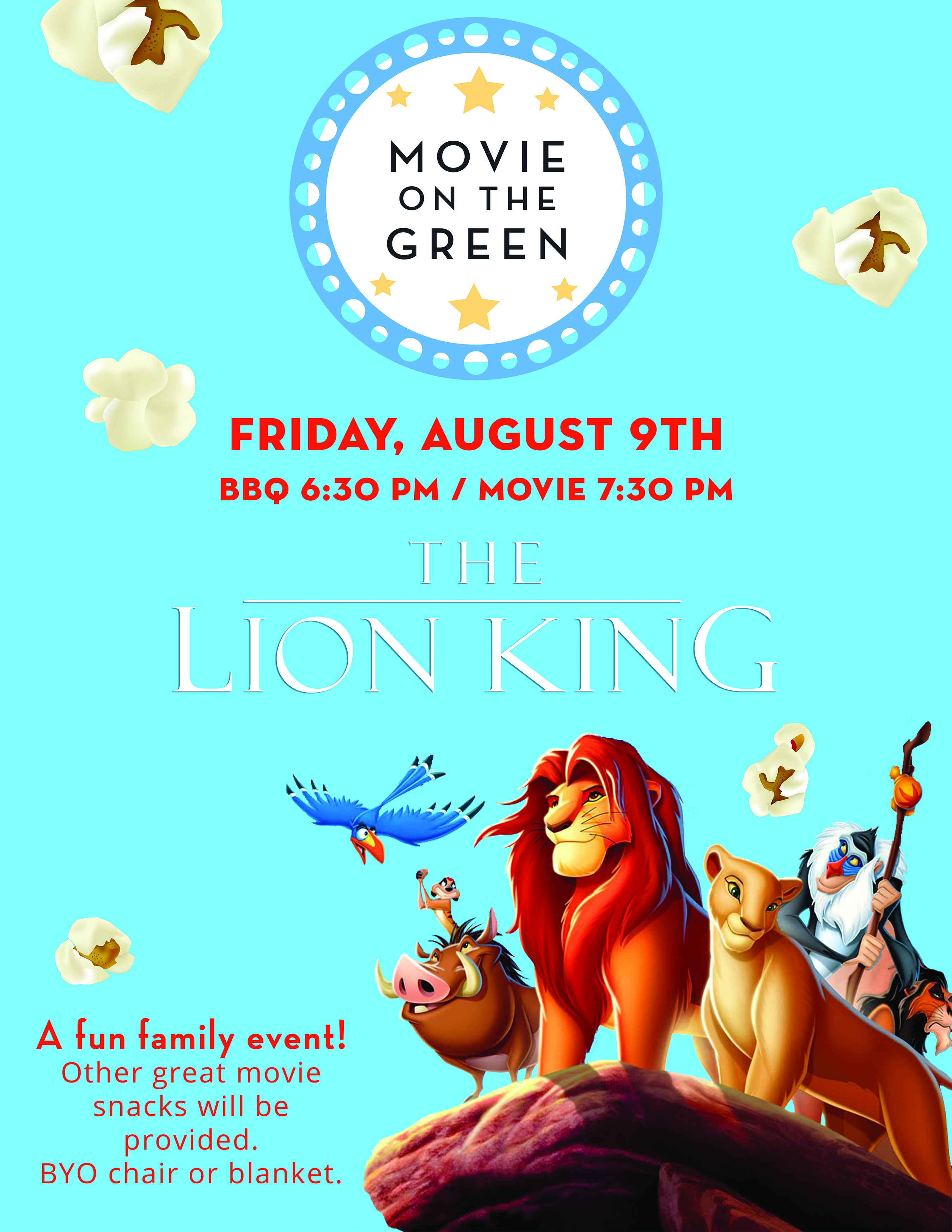 Movie on the Green RSVP - St  Michael's by-the-Sea Episcopal